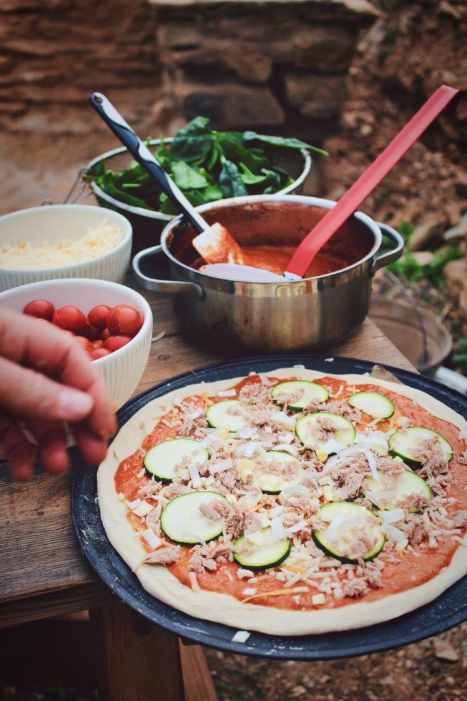 pizza foodtruck gezond